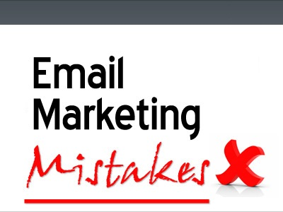 Email Marketing Mistakes (Part 1): Misrepresentation, Assumption, Filters.