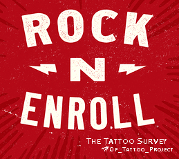 Rock n Enroll // The Tattoo Survey // Presenting #OF_Tattoo_project by @blogs4bytes with @otinflewer // https://blogs4bytes.typeform.com/to/XsbLEl