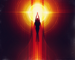 Goddess of the Sun Kojiki Elemental Forces - @blogs4bytes via @neonmob