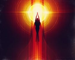 Goddess of the Sun Kojiki Elemental Forces - @blogs4bytes via @neonmob