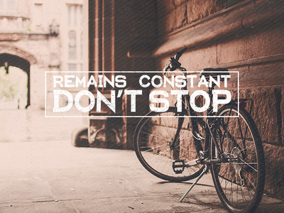Constant. Don't Stop. Remains Jumbled via #hshdsh